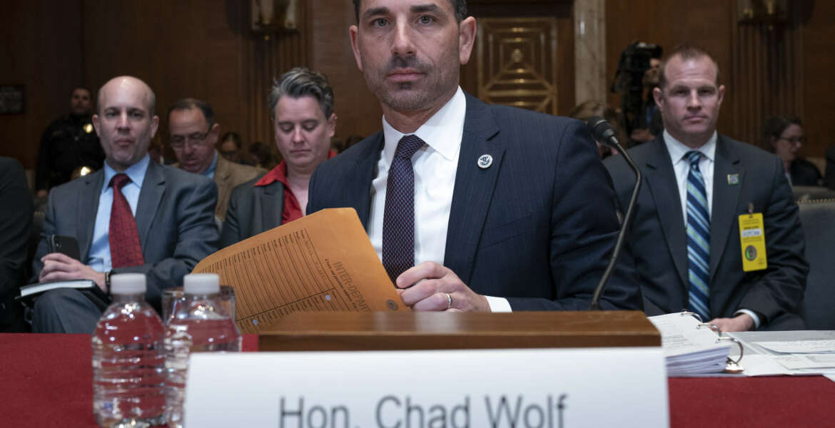 Chad Wolf, Senate hearing, Department of Homeland Security, DHS