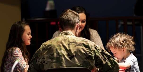 Meet military man online