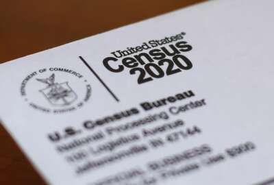This Sunday, April 5, 2020, photo shows an envelope containing a 2020 census letter mailed to a U.S. resident in Detroit. If you're a census slacker and haven't yet filled out the form for the 2020 head count, the federal government is trying another way to get in touch with you. Starting Wednesday, the U.S. Census Bureau is mailing out millions of paper forms to homes whose residents haven't yet answered the once-a-decade questionnaire. (AP Photo/Paul Sancya)