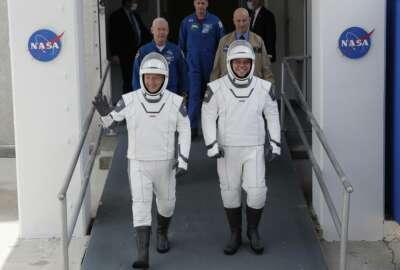 Space X, Falcon 9, Douglas Hurley, Robert Behnken