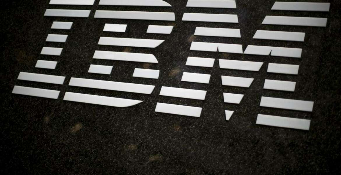 FILE- In this April 26, 2017, file photo, the IBM logo is displayed on the IBM building in Midtown Manhattan, in New York. IBM says it is getting out of the facial recognition business over concern about how it can be used for mass surveillance and racial profiling. (AP Photo/Mary Altaffer, File)