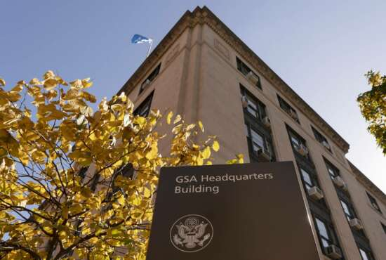 The General Services Administration (GSA) building is seen, Tuesday, Nov. 10, 2020, in Washington. General Service Administrator Emily Murphy, the head of the obscure federal government agency that is holding up Joe Biden's presidential transition, appeared to know she might be facing a messy situation after the votes came in. Prior to Nov. 3, Emily Murphy, the head of the General Services Administration, held a Zoom call with Dave Barram, 77, a man who was in her shoes 20 years earlier during the contested 2000 election between George W. Bush and Al Gore. Barram said he advised her to