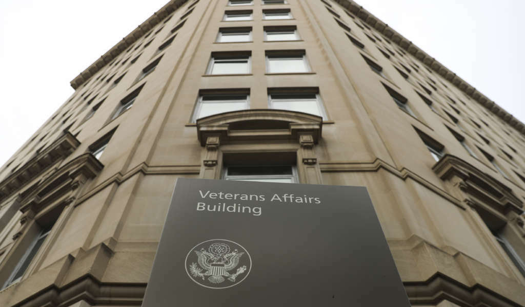 Veteran Affairs building near the White House in Washington, Feb. 14, 2018. An internal watchdog's investigation has found that Veterans Affairs Secretary David Shulkin improperly accepted Wimbledon tennis tickets and likely wrongly used taxpayer money to cover his wife's airfare for an 11-day European trip. (AP Photo/Pablo Martinez Monsivais)