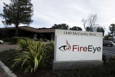 This Wednesday, Feb. 11, 2015 photo shows FireEye offices in Milpitas, Calif. The cybersecurity firm said Tuesday, Dec. 8, 2020 it was hacked by what it believes was a national government. The attacker targeted and stole assessment tools that FireEye uses to test its customers' security and which mimic the methods used by hackers, the company said. (AP Photo/Ben Margot)