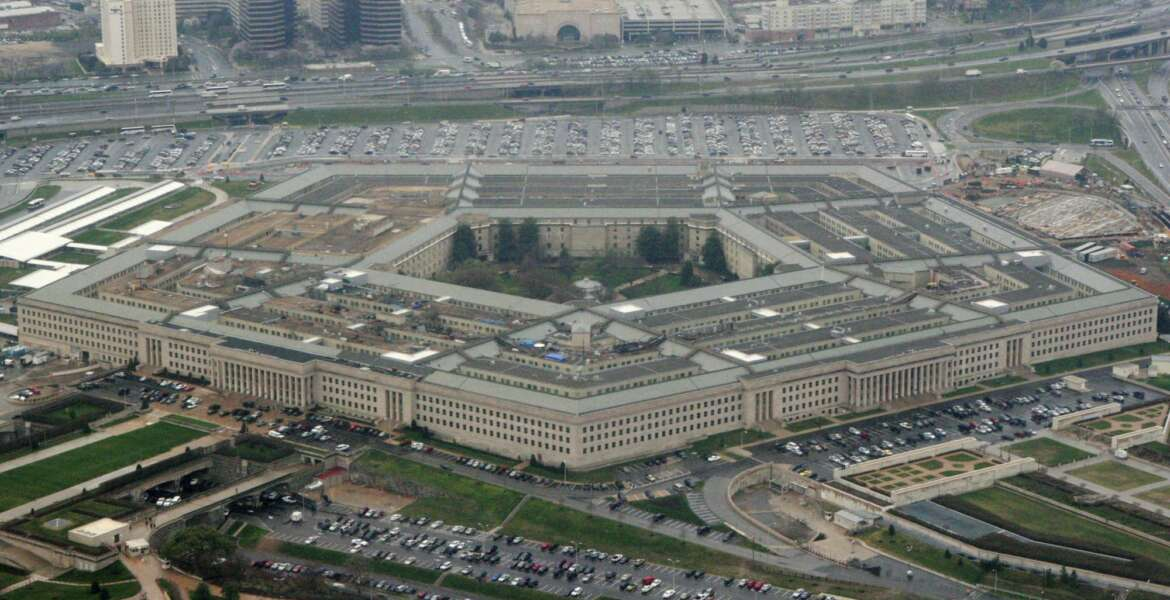 FILE - This March 27, 2008 file photo shows the Pentagon in Washington. The Pentagon has endorsed a new slate of initiatives to expand diversity within the ranks and reduce prejudice, including in recruiting, retention and professional development across the force. (AP Photo/Charles Dharapak, File)