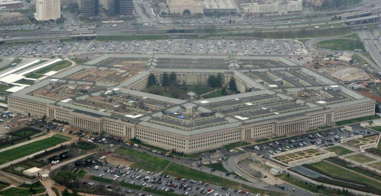 FILE - This March 27, 2008, file photo, shows the Pentagon in Washington. President Joe Biden and Vice President Kamala Harris will visit the Pentagon on Feb. 10, 2021. (AP Photo/Charles Dharapak, File)