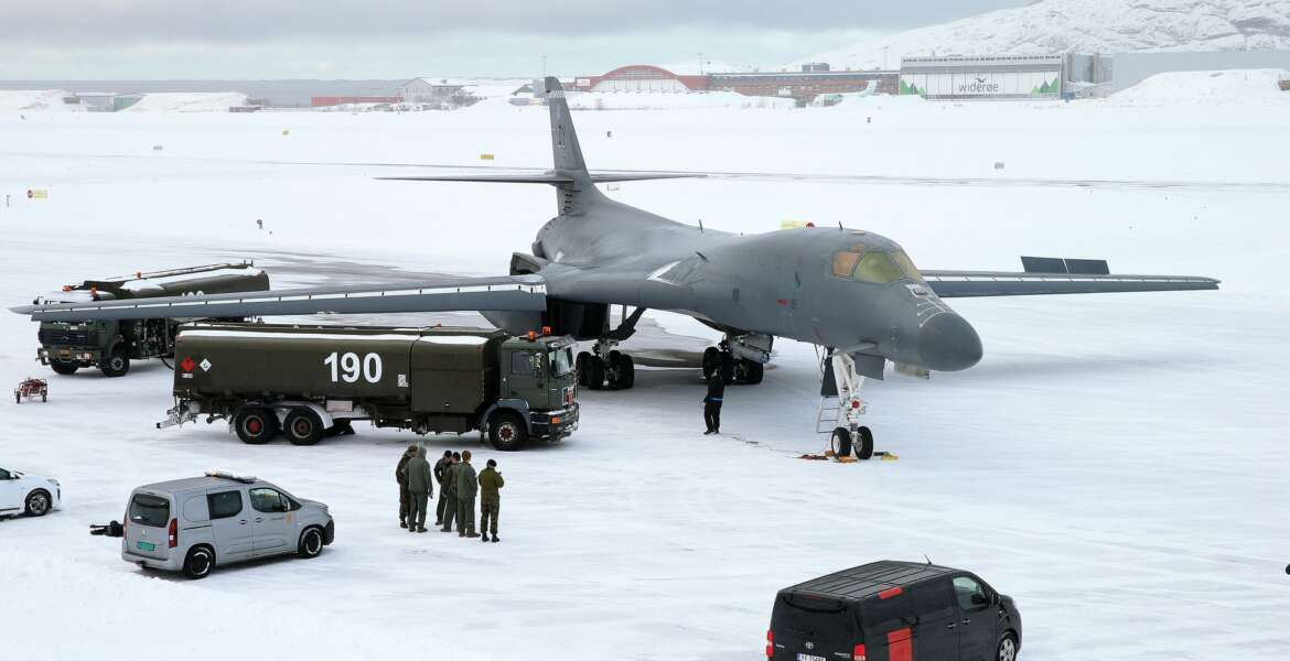 During the flight, the B-1, alongside U.S. Special Operations Command Europe members, provided critical support to Norwegian and Swedish joint terminal attack control training.