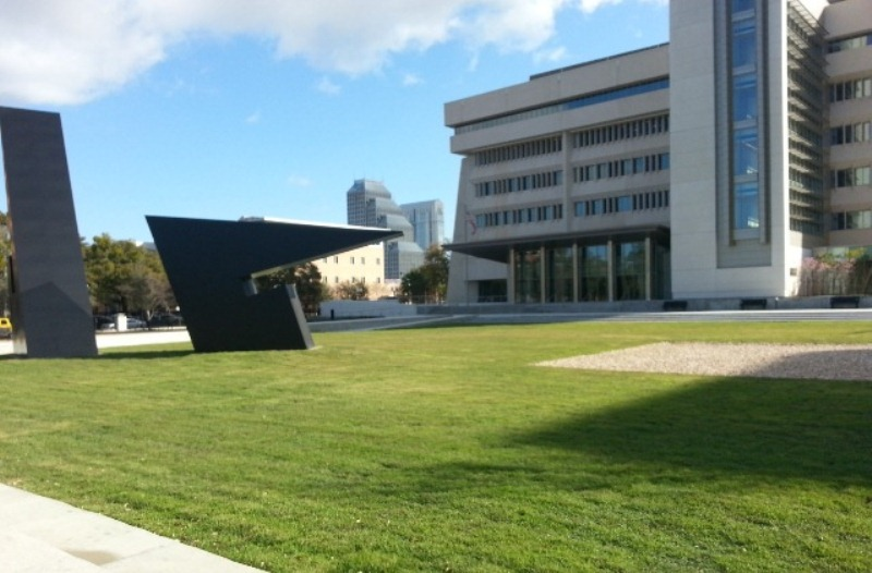Wireless soil-moisture sensors were tested by GPG on 1.1 acres of landscape at the Young Federal Building in Orlando, FL.