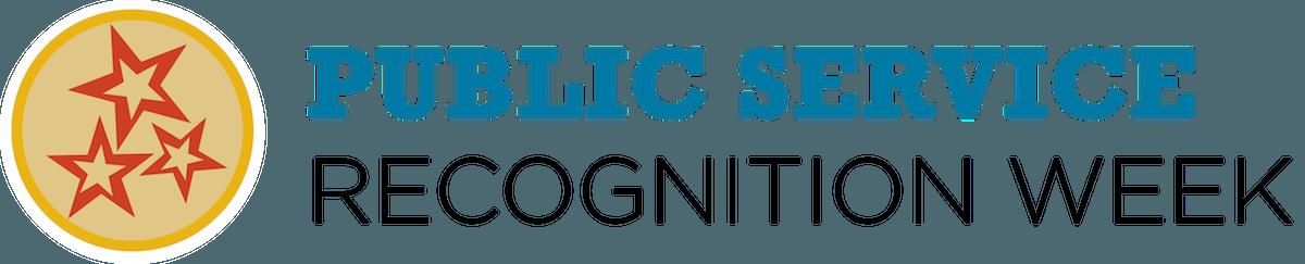 Public Service Recognition Week logo