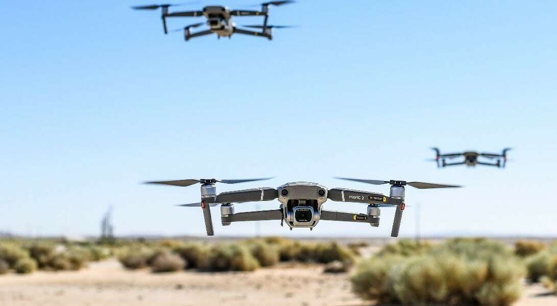 To help counter against threats by enemy drones, the Department of Defense released its Counter-Small Unmanned Aircraft Systems Strategy on Jan. 8, 2021. (Staff Sgt. Rachel Simones)