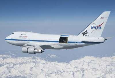 SOFIA NASA aircraft satellite space