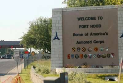 Fort Hood Army Base in Texas