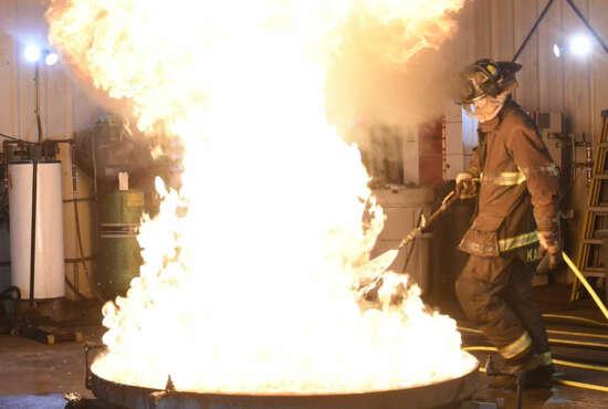 firefighter, PFAS
