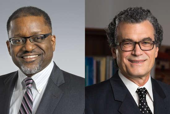 Dr. Gary Gibbons and Dr. Eliseo J. Pérez-Stable, Sammies, NIH