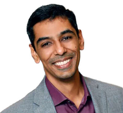 Head shot of Yash Prakash