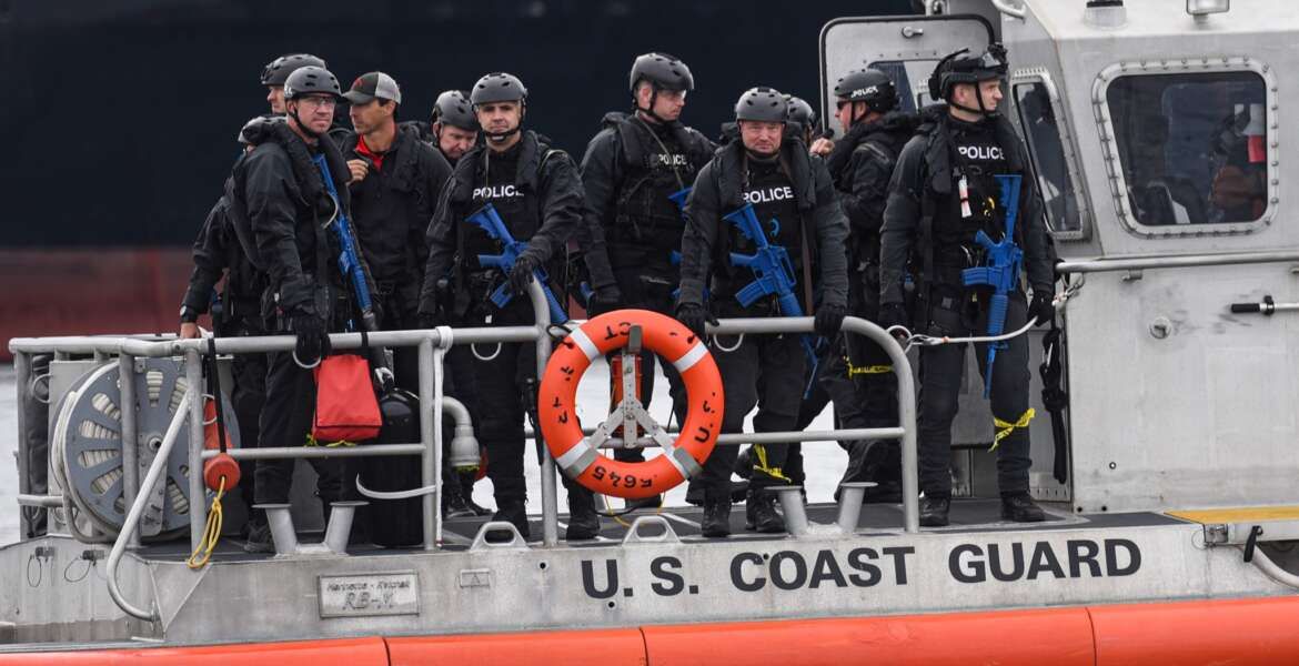 Seattle Police Department and Thurston County-Sheriff officers train with the U.S. Coast Guard throughout the waters of Puget Sound. Coast Guard Sector Puget Sound U.S. Coast Guard Pacific Northwest.