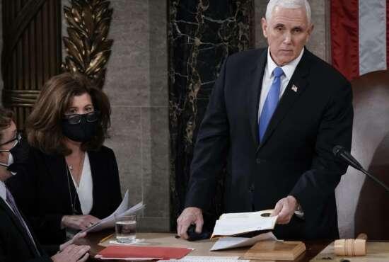 Elizabeth MacDonough, Mike Pence