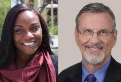 Kizzmekia S. Corbett, Ph.D., Former Research Fellow, Vaccine Research Center and Barney S. Graham, M.D., Ph.D., Former Deputy Director, Vaccine Research Center
