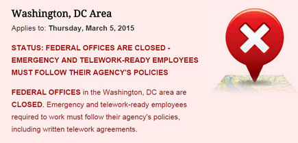 Federal offices in dc baltimore closed thursday due to snow storm federal offices in dc baltimore closed thursday due to snow storm federalnewsradio platinumwayz