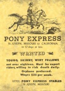 Pony_ExpressAdvert