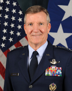 Gen. Herbert Carlisle, commander, Air Combat Command