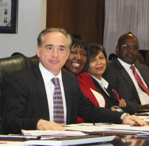 Dr. David Shulkin, the under secretary of health at the VA, at an October leadership meeting at VA headquarters in Washington, D.C.