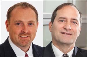 Headshots of Coen and Fischetti