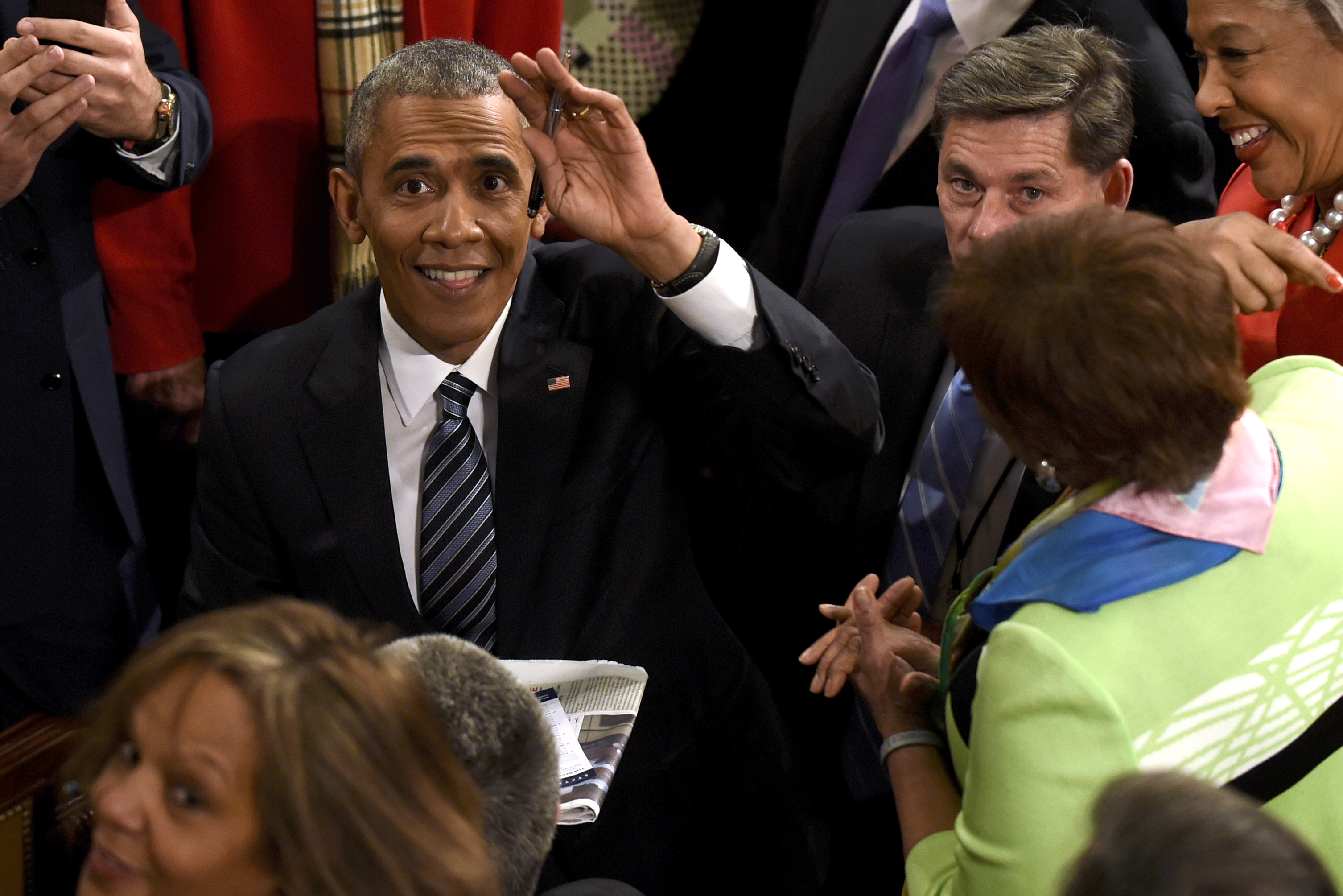 an analysis of president barrack obamas final state of the union address