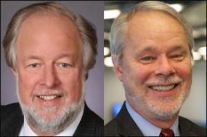 Headshots of Bob Lohfeld and Paul Murphy
