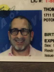 tom temin driver's license