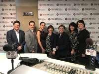 Left to right: Steve Watkins, Chris O'Neil, Nadine Santiago, Erin Buechel Wieczorek, Cindy Your, Elizabeth Shea, Lou Anne Brossman