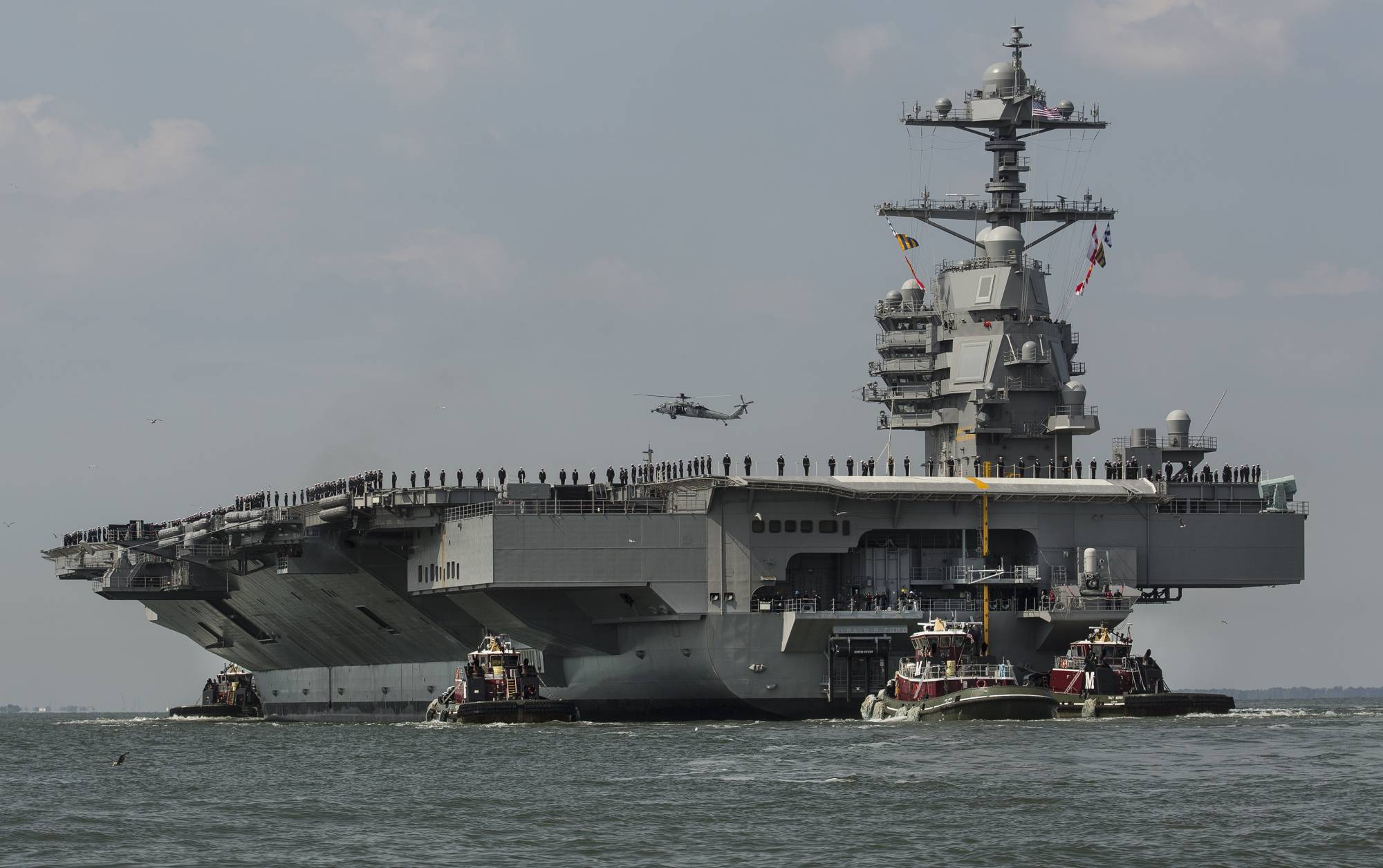 Next Generation Aircraft Carrier Builder S Sea Trials