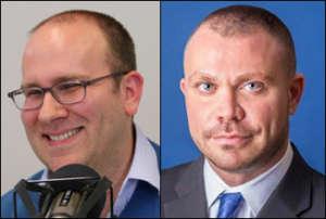 Head shots of Crawford & Primetica