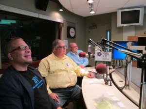 Group photo of Avery Brown, Chris Bock and Joel Benge