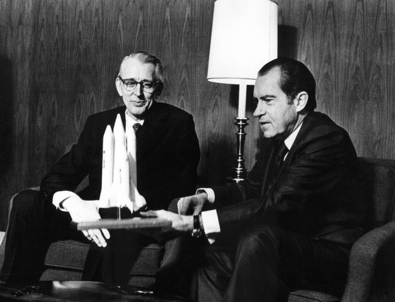 Nixon launches the shuttle program FederalNewsRadio