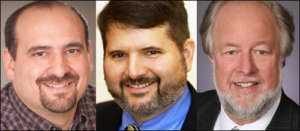head shot of Miller, Wakeman and Lohfeld