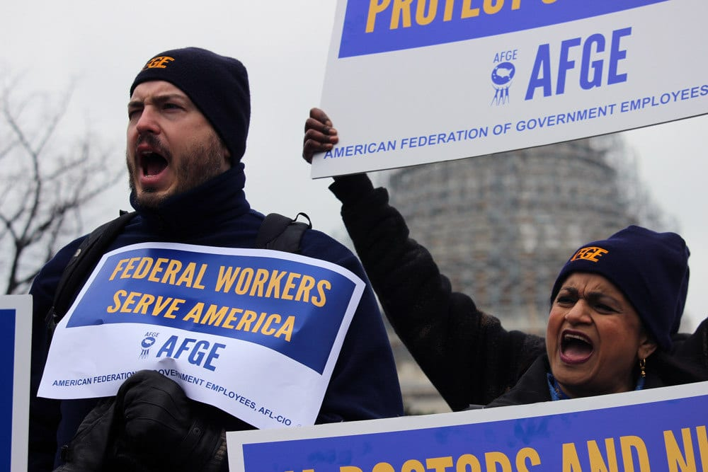 Afge Files Grievance Over Vas Implementation Of Accountability Act