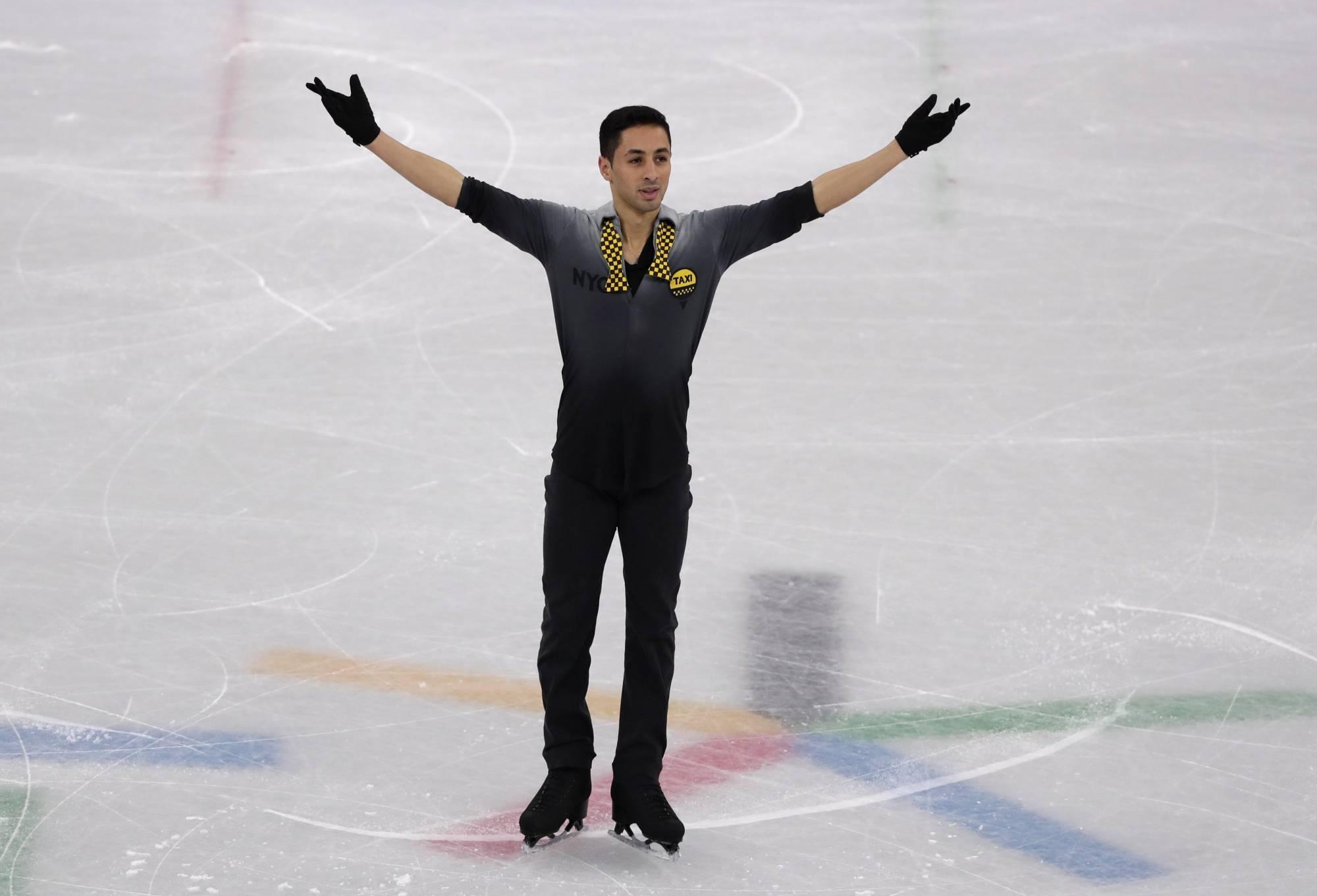 The Latest: Spotlight on united Koreas in ceremony, on ice ...