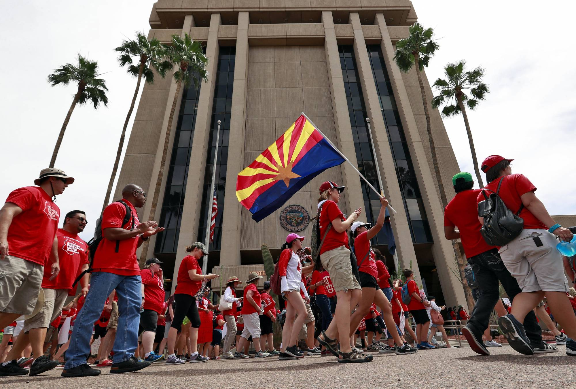 Arizona lawmakers move to pass raises for striking teachers arizona lawmakers move to pass raises for striking teachers federalnewsradio fandeluxe Image collections