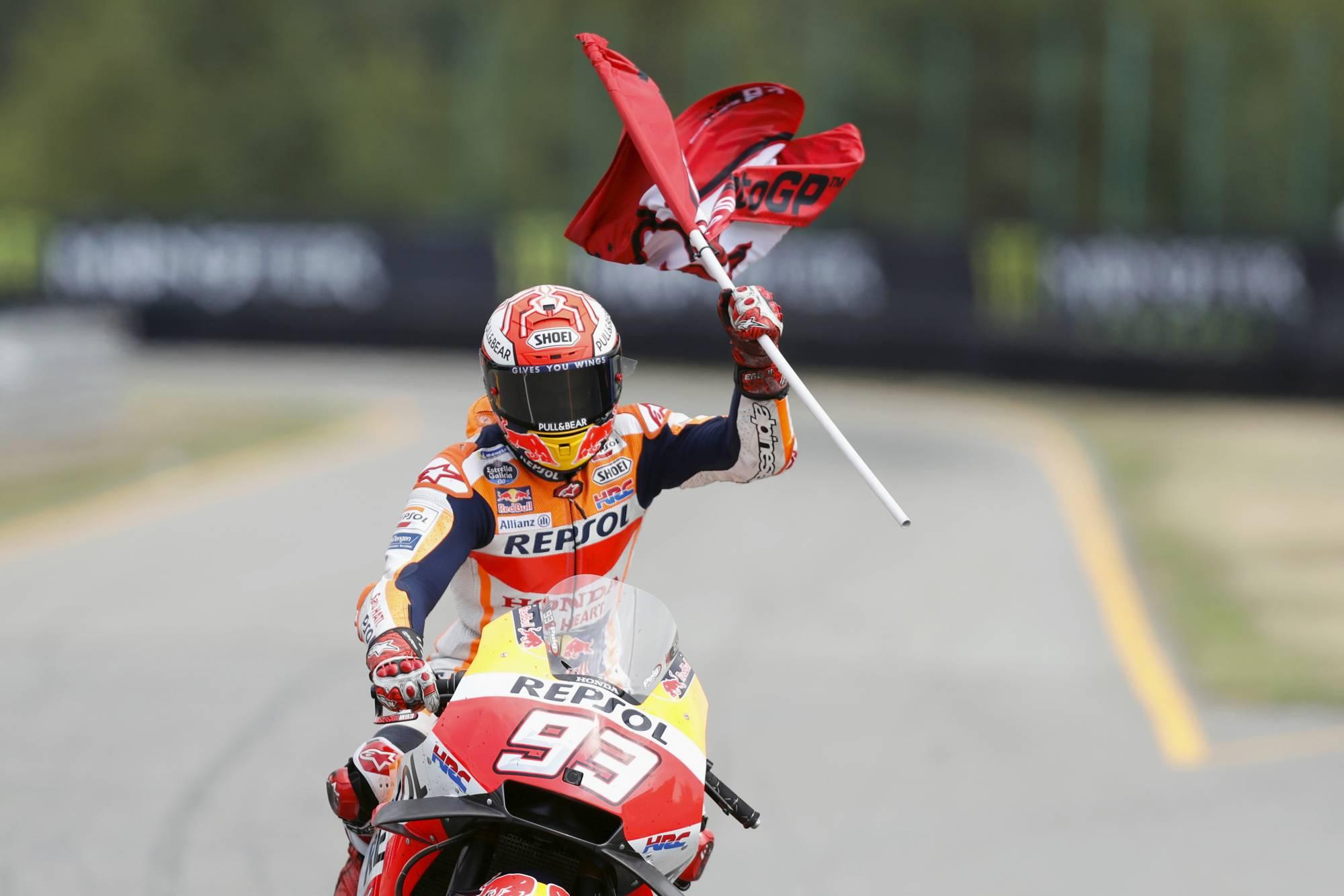 MotoGP champion Marquez edges Dovizioso for Austrian GP pole - FederalNewsRadio.com