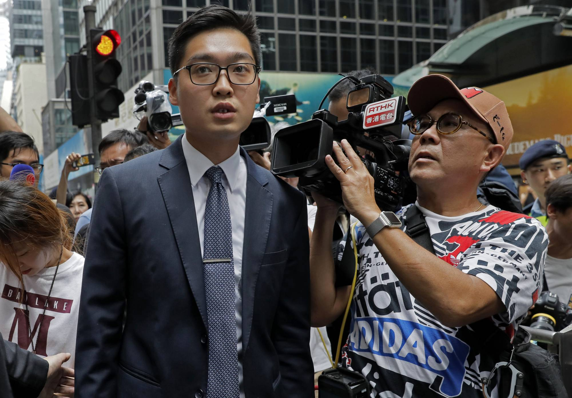 Activist compares Beijing's rule in Hong Kong to colonialism